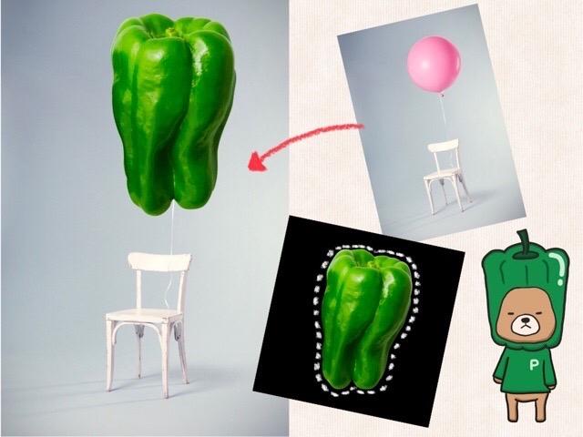 Procreate(プロクリエイト)の画像の切り抜き方法。